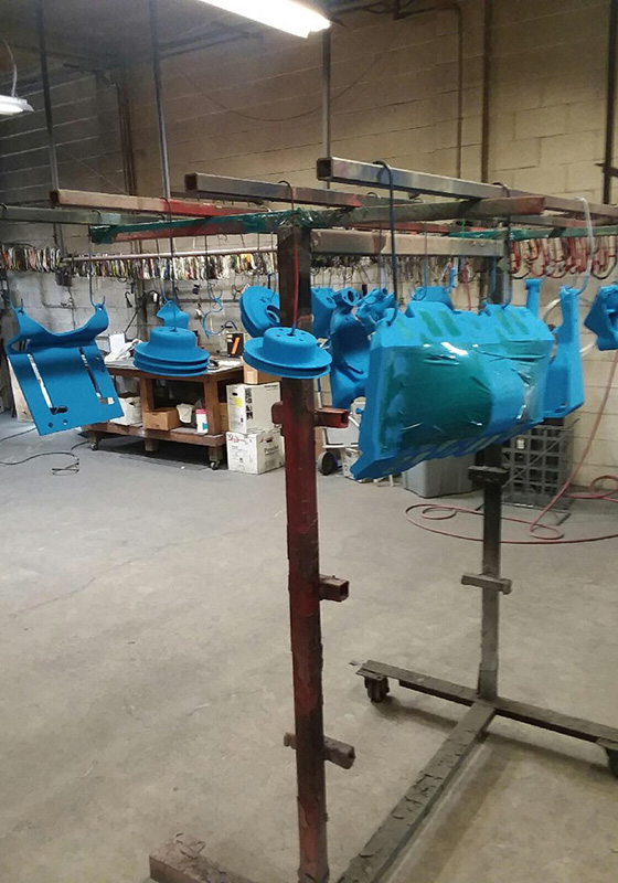 Commercial Powder Coating in Irvine, Tustin